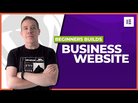 How to build a business website with wordpress?