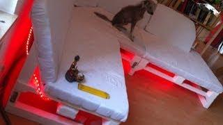 Sofa selber bauen - ein DIY-Sofa aus Paletten