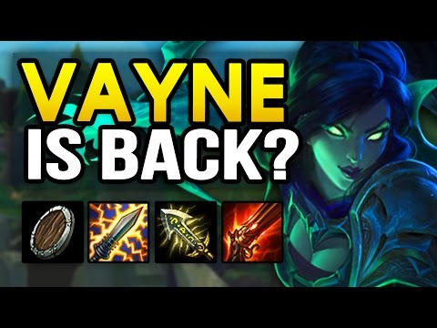 VAYNE BACK in Patch 7.9 Mid-Season? New Best Vayne Builds (League of Legends)