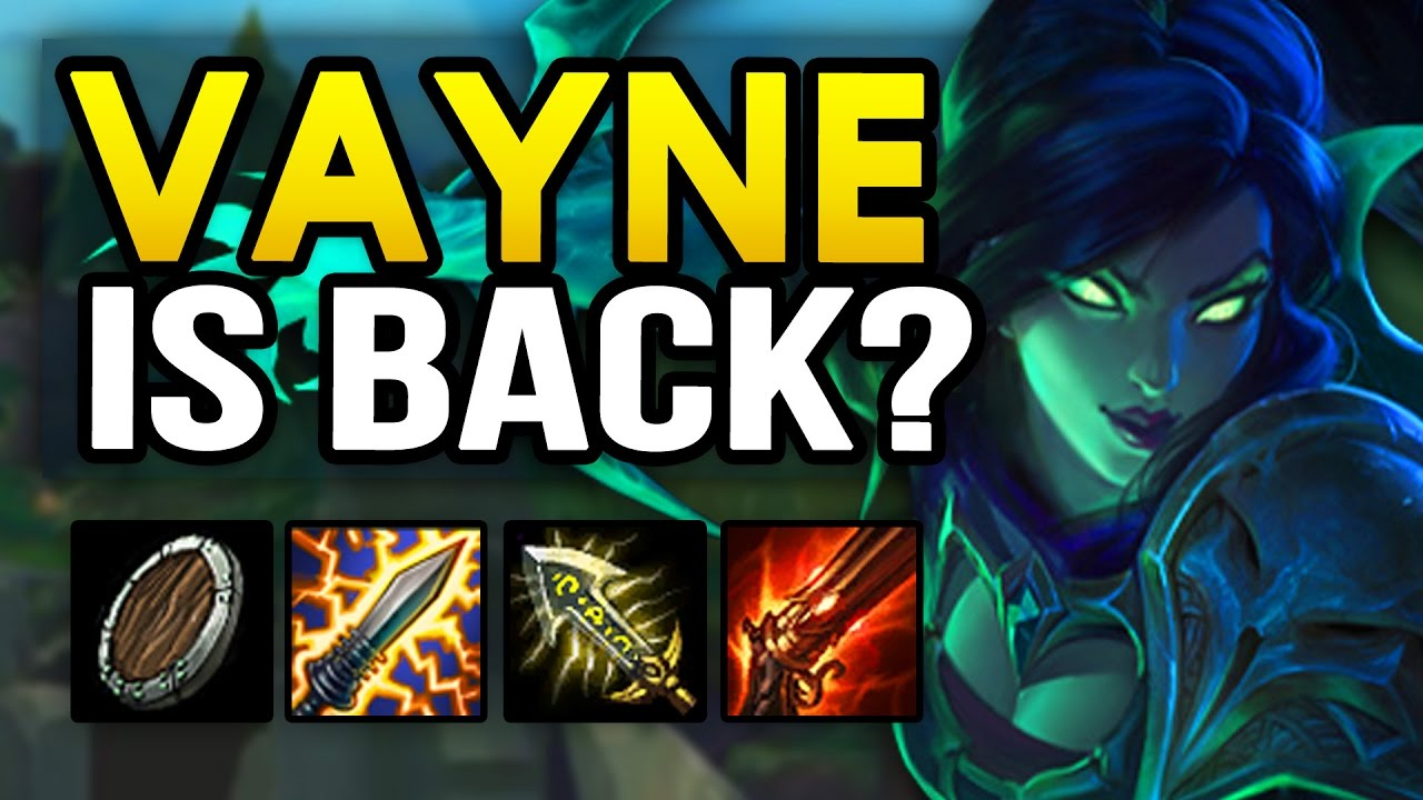 s9 Bottom Vayne build guides, counters, guide, pro builds ...