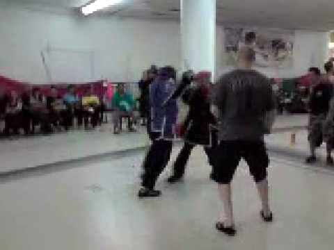 Doce Pares Single Stick Third Fight Round 3