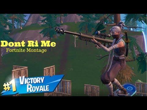 QCK: Dont Ri Me! - Montage - Fortnite Battle Royale [HD]