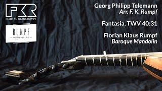 fantasia, twv 40:31 by georg philipp telemann (f. k. rumpf - baroque mandolin)