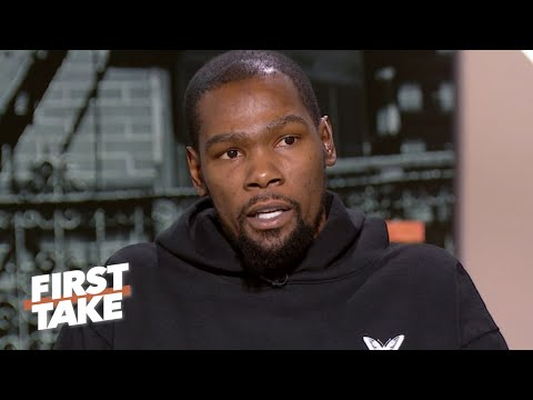 Joel Embiid, Damian Lillard among Kevin Durant's favorite current NBA players | First Take