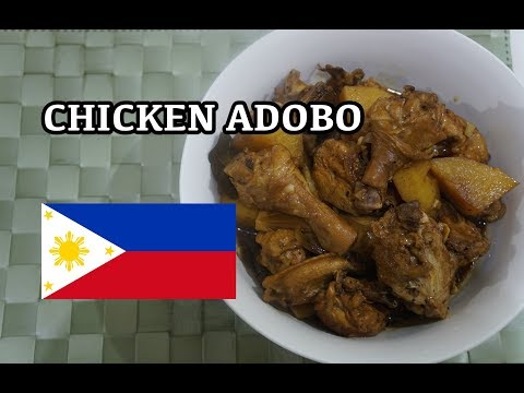 🇵🇭 Chicken Adobo Recipe - Filipino Tagalog Pinoy