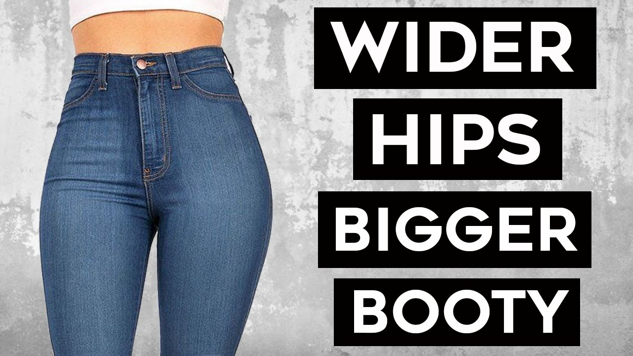 How To Get Wider Hips and Bigger Glutes  4 Super Moves