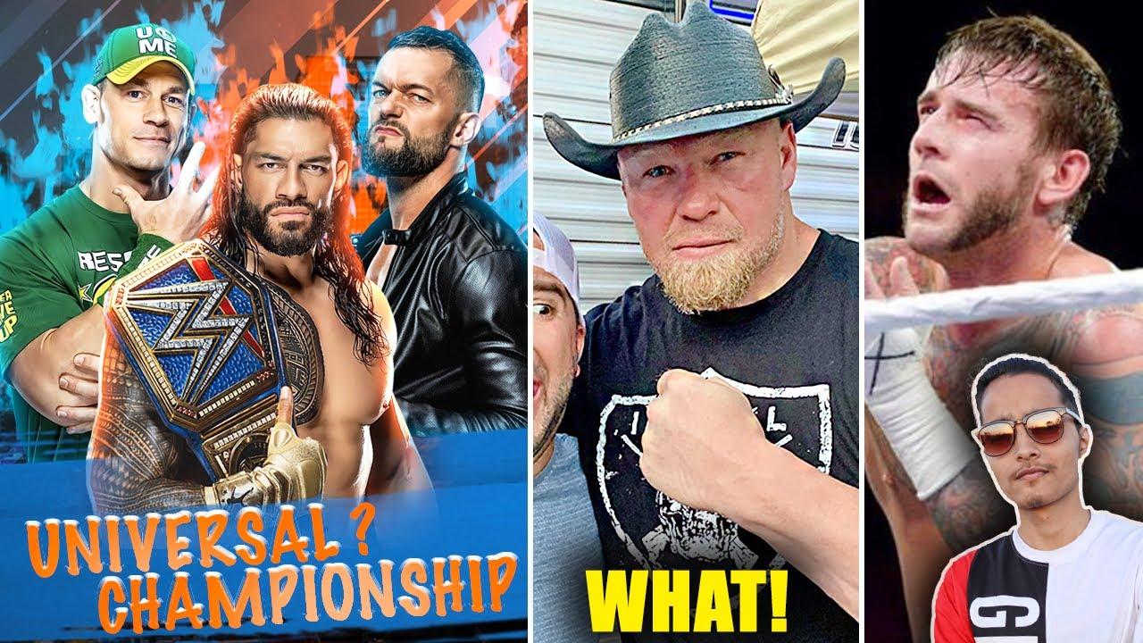 Brock Lesnar SWAG😎...Triple Threat Universal Title SummerSlam Match!? Braun in Boxing, CM Punk Troll