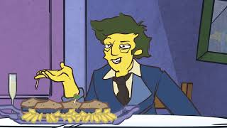 Steamed Hams but it's a specific 13 second, reanimated version...