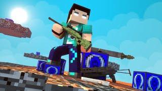 Minecraft   Dropper Lucky Block Com Armas   Mini Game