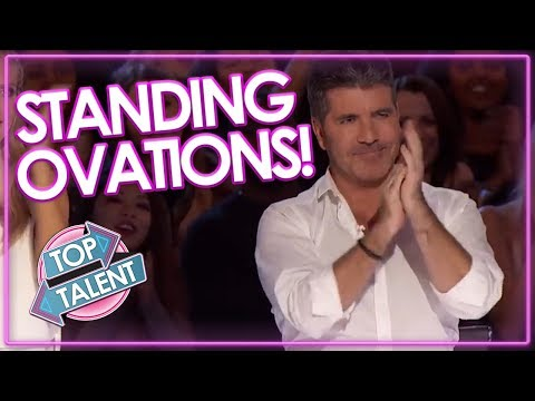 Download Youtube: STANDING OVATIONS On Got Talent & X Factor | Top Talent