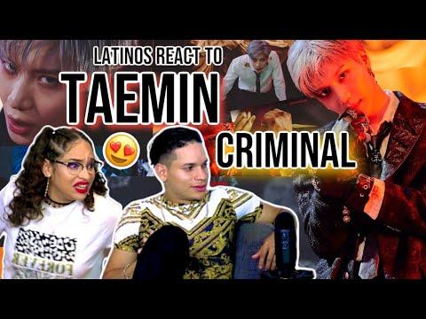 Waleska & Efra react to TAEMIN 태민 'Criminal' MV | REACTION 😍🤯