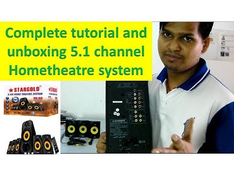 unboxing and complete tutorial about 5.1 channel hometheatre thumbnail