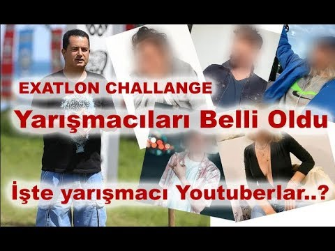 Acun Ilıcalı Exatlon Challenge kadrosunu açıkladı. İşte ünlü sosyal medya fenomenleri..