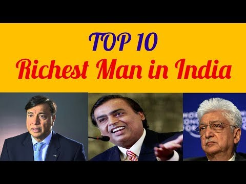 Top 10 Richest Man in India 2017