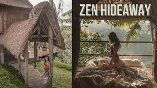 Gambar cover Luxury Airbnb Treehouse Tour: Zen Hideaway Villa, Bali