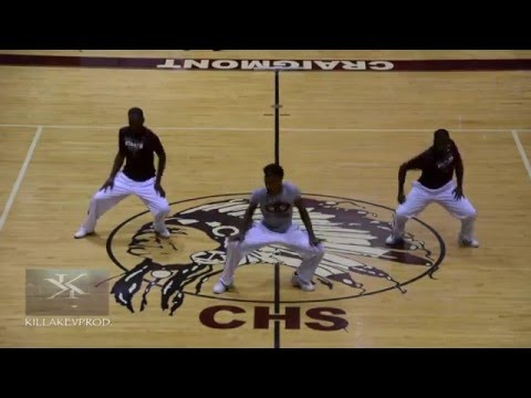 Coahoma Community College Marching Band - Floor Show - 2016