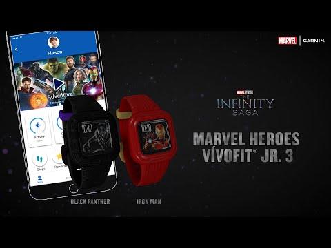 Garmin: Marvel Heroes vívofit Jr. 3 – Suit Up to Find Your Power