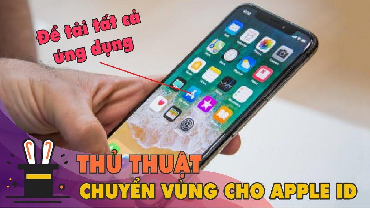 Thủ thuật Tải mọi ứng dụng trên AppStore bị Chặn/ Không tìm thấy tại Việt Nam