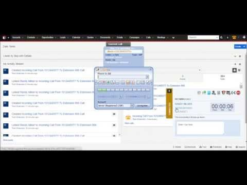 SugarCRM 7 Asterisk Integration By TechExtension