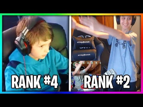 5 Kids That Are Alot Better Than Ninja at Fortnite.. (ʘ ʘ)