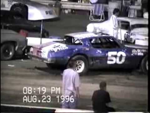 August 23 1996 Charles McLane car  heat race #2 Manzanita Speedway