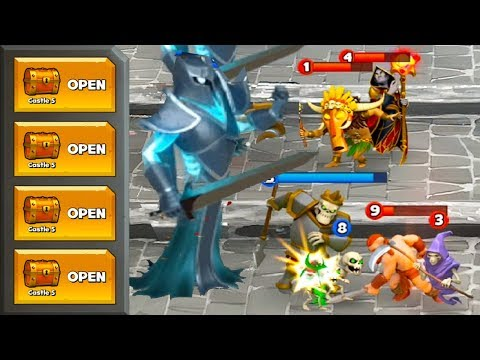 Castle Crush - Gameplay Walkthrough Part 19 - Super Battle #1 (Android Games)