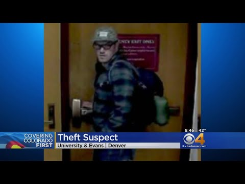 Police Search For Campus Theft Suspect