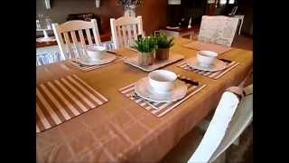 French Shabby Chic Table Decorating Ideas