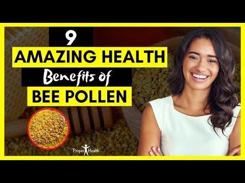 9-amazing-health-benefits-of-bee-pollen-|-super-foods-bee-pollen
