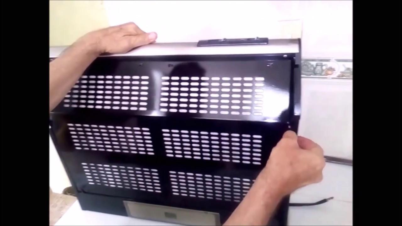 C mo limpiar la campana extractora segunda parte youtube - Limpiar campana extractora ...