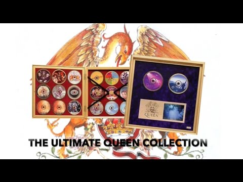 [182] The Ultimate Queen Collection CD Cabinet Unboxing (1995)