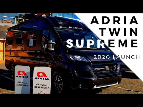 Adria Twin Supreme 2020 Launch