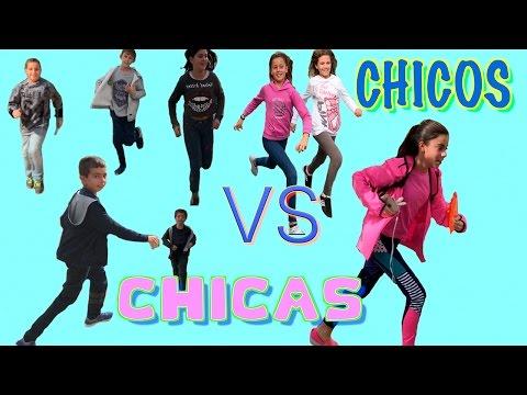 GYNKANA CHICAS VS CHICOS - LA DIVERSION DE MARTINA