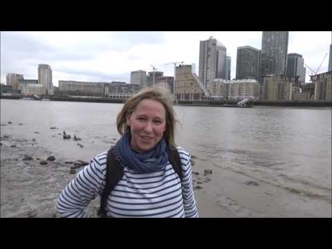 Mudlarking along the River Thames London