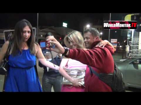 Cassie Scerbo and Francia Raisa arrives at Star Magazine's
