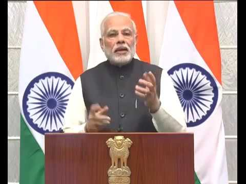 PM Narendra Modi addressing Asian Business Leader Conference in Malaysia (Video Conferencing)