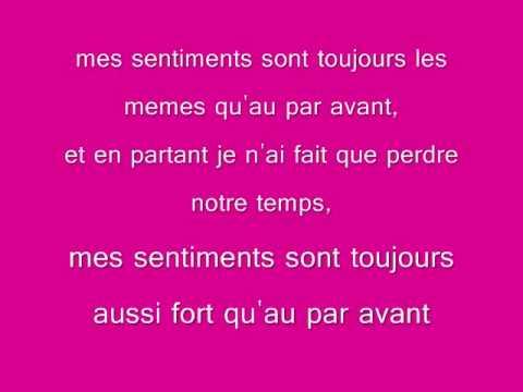 Soumia Mes Sentiments Avec Paroles!!!!!