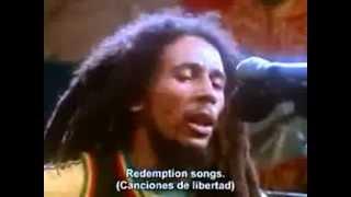 bob marley - redemption song estudio (subtitulado)