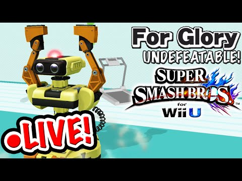 *●LIVE EPISODE* | Undefeatable!: ●LIVE! - ROB ~ Ep. 11 - Super Smash Bros. Wii U (For Glory) HD