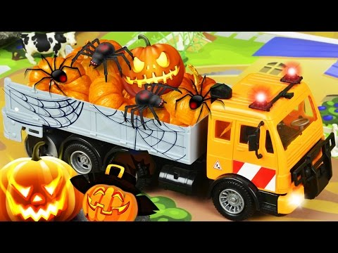 Малышка Хейзел готовится к Хеллоуину! Детские развивающие мультфильмы. Мультики для детей.