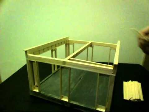 passivhaus bausatz modell 1 20 selbst bauen youtube. Black Bedroom Furniture Sets. Home Design Ideas