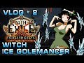 PoE | Vlog # 2 | Witch Ice Golemancer Build | The Incursion League | War for The Atlas