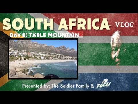 South Africa VLOG (8): Table Mountain
