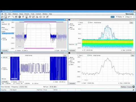 #252: Acquisition & Analysis control in a Real-Time Spectrum Analyzer RSA | RSA306B