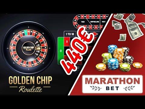 Golden CHIP Roulette In Casino MarathonBet - WIN 440€