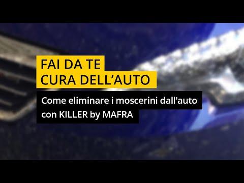 Come eliminare i moscerini dall'auto con KILLER by #MAFRA