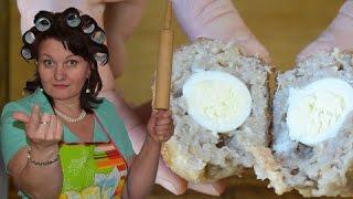 Котлеты фаршированные яйцами перепёлочек   Тёщины Рецепты 🎬