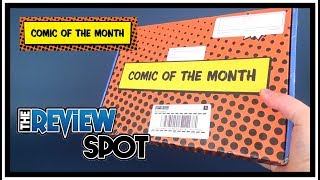 Subscription Spot | Comic of the Month March 2018 Subscription UNBOXING!