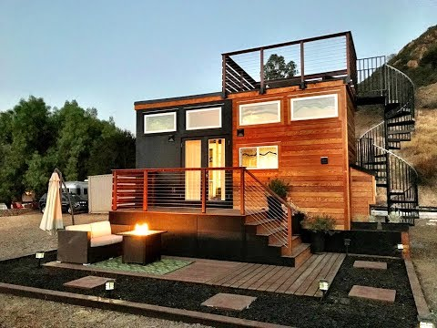 Fabulous Tiny House With Rooftop Deck