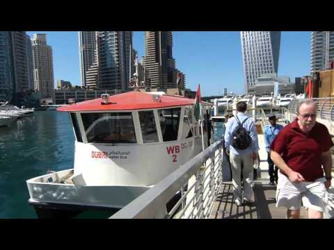 Dubai Marina Water Bus 2016
